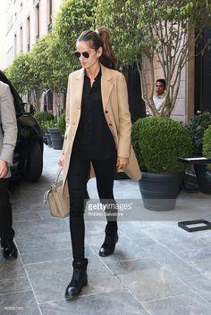 Izabel Goulart is seen on September 20, 2016 in Milan, Italy.