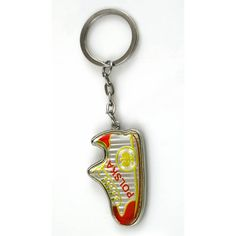Metal keychain in the shape of a football shoe with the eagle and the inscription Poland. Saint Christopher, Football Shoes, Form, Keychains, Poland, Shape, Personalized Items, Keychain Ideas, Eagles