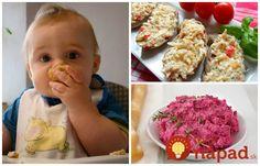 11 rýchlych a super-zdravých nátierok pre detičky: Môžu ich aj drobci do 3 rokov! Baby Food Recipes, Ham, Food And Drink, Vegetables, Kids, Children, Breakfast, Desserts, Recipes For Baby Food