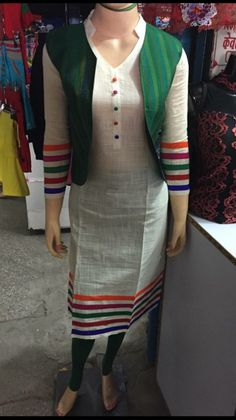 Kurti has become the women and girls most favorite style statement to look stylish with charming traditional look. These classy yet trendy kurtis are so co Salwar Designs, Kurti Neck Designs, Dress Neck Designs, Kurta Designs Women, Kurti Designs Party Wear, Blouse Designs, Dress Designs For Girls, Neckline Designs, Pakistani Dresses Casual