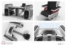Radke Industries: Workstation Close ups, Ian Jun Wei Chiew on ArtStation at…