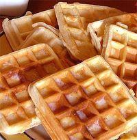 Receita de Waffles - Passo a Passo