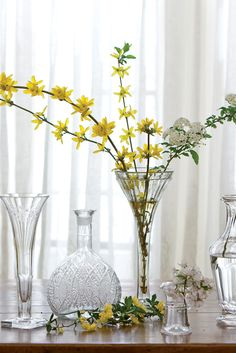 What better way to brighten your home by bring blooming branches indoors?