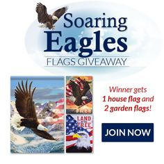 Soaring Eagles Flags Giveaway 072017