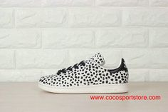 Adidas Stan Smith Leopard White Black S75117 Shoes For Women