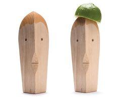 Juice Bruce, A Good Looking Wooden Citrus Juicer