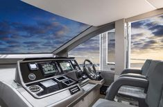 Winner of the 2018 Motorboat and Yachting award for the Best Fly Bridge Yacht over 66 ft.   66 ft 2018 Sunseeker Manhattan yacht for sale