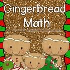 Gingerbread Math Pack! This is a fun, CCSS aligned pack filled with math workstation activities and printables!   7 math center activities: ...