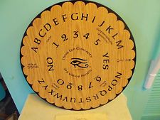 Large Round Quiji Board Third Eye Concepts Talking Board OUIJA No Planchette