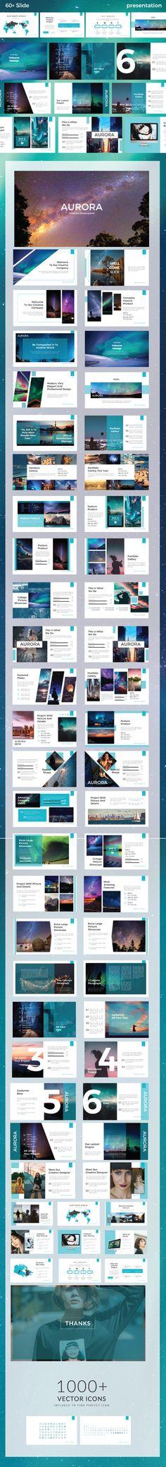 Aurora #Presentation Template - Business #PowerPoint Templates