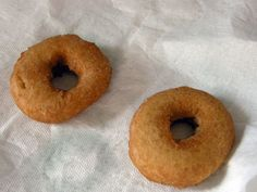 GF Donuts (rice flour, potato and tapioca starch)