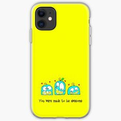 'Three little monsters' iPhone Case by knovadesign Three Little, Monster S, Little Monsters, Iphone Case Covers, Iphone 11, Third, It Works, My Arts, Ink