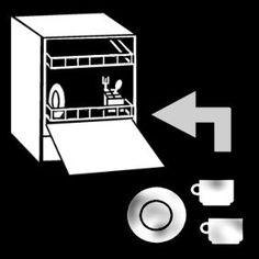 Pictogram Vaatwasser vullen Special Kids, Adhd, Dishwasher, Teaching, How To Plan, Kobe, School, Icons, Desk