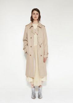 Deconstructed Trench Coat from Maison Margiela at La GarÁonne
