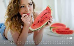 Календарь Август 2017