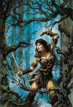 Xena by TereseNielsen -- Wow! A level of talent I aspire to.