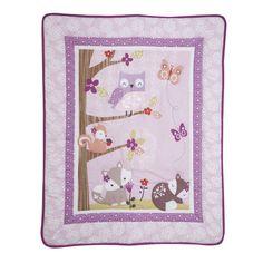 Bedtime Originals Lavender Woods 3 Piece Crib Bedding Set You\'ll Love | Wayfair