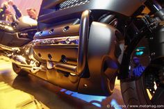 Salon de Milan - Honda Goldwing F6B : en noir #f6b #goldwing #honda #2013