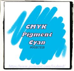 cyCMYK PigmentCyanLisaBwd
