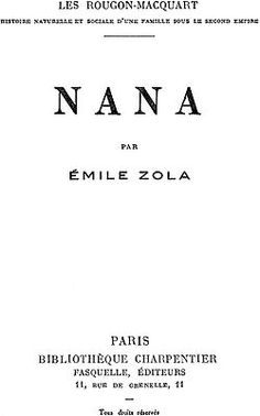 Image illustrative de l'article Nana (roman)