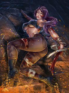 Lara Croft. NSFW optional by Prywinko