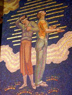 Hildreth Meiere mosaic