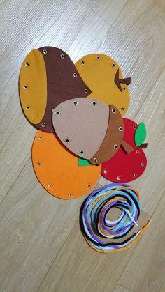 가을열매 바느질 : 네이버 블로그 Kindergarten Activities, Preschool Crafts, Diy Crafts For Kids, Art For Kids, Activities For Kids, Angel Decor, Small Groups, Kids And Parenting, Montessori