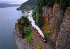 Steam Engine, Washougal, Washington photo via glazemo