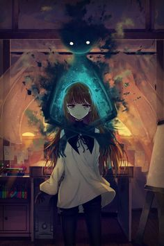anime, fan art, and game image Manga Girl, Anime Girls, Manga Anime, Dark Anime, Yandere, Kawaii Anime, Manga Font, Animé Fan Art, The Ancient Magus Bride