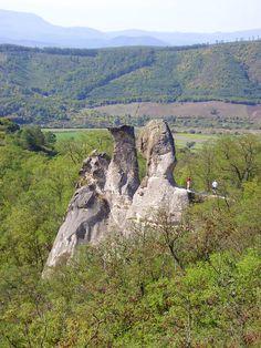 """""""Barát és Apáca"""" sziklák / Rocks called """"Monks and Nuns"""" - Sirok, Hungary"""