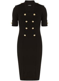 Black military dress - View All  - Dresses