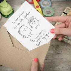 Pack de 5 tarjetas Wonderconsejos - Hacer un buen equipo - www.mrwonderfulshop.es