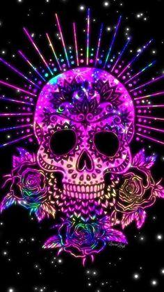 skeleton watches for men uk Sugar Skull Wallpaper, Sugar Skull Artwork, Skull Wallpaper Iphone, Galaxy Wallpaper, Sugar Skull Tattoos, Sugar Skulls, Candy Skulls, Totenkopf Tattoos, Skull Pictures