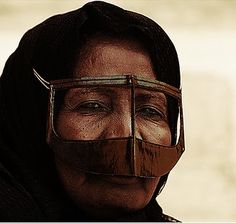 bedouin mask