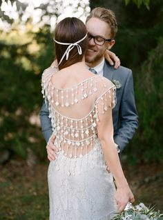 Claire Pettibone 'Florence' wedding dress from The Dress Theory   Photo Jenna Henderson, Photographer   Styling: Cedarwood Weddings