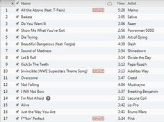 Workout Music - Cardio Workout Playlist, by Chelle February  2013 Best Workout Playlist, Workout Songs, Cardio Music, Cardio Hiit, Playlists, Powerman 5000, Running Music, Train Insane Or Remain The Same, Grammy Nominees