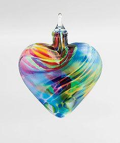 Rhapsody: Dale Leman: Art Glass Ornament