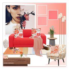 """Spring Flowers"" by rainie-minnie ❤ liked on Polyvore featuring interior, interiors, interior design, home, home decor, interior decorating, Olsson, Nolita, AERIN and Jonathan Adler"