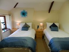 This entry from Crossways Holiday Cottages shows just how eye catching a more neutral colour palette can be.