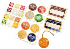 Help prevent cross contamination scares. Gluten Free Labels for your kitchen!