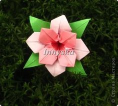 Master class Kusudama Origami new species of flower * MASTER CLASS * Photo Paper 1