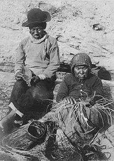 Puget Sound Salish Indian couple