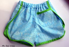 Me Sew Crazy: Old School Shorts...