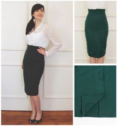 Ultimate Pencil Skirt - come and learn to sew darts, insert a concealed zip, put in waistband facings and sew a vent in the back. We love a high waist but if you're not a fan we'll even show you how to alter the skirt to hit right where you want it
