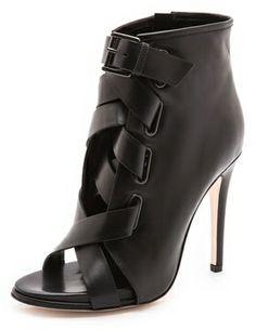 Diane von furstenberg Radcliff Lace Up Booties on shopstyle.com