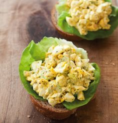 Classic Egg Salad. Perfect leftover Easter egg recipe!