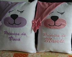 Naninha fronha com travesseiro