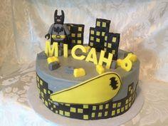 Lego Batman Cake #2