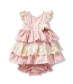 Shop for Laura Ashley London 12-24 Months Stripe & Lace Tiered Dress at Dillards.com. Visit Dillards.com to find clothing, accessories, shoes, cosmetics & more. The Style of Your Life.