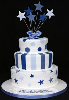 This Might Work Birthday Cakes For Men 80th Blue Christening